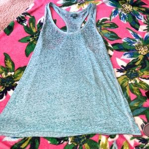 American Eagle Light Blue Razorback Tank